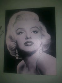 Marilyn Monroe photo on canvas  Berwyn, 60402