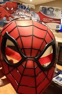 Marvel ultimate spider-man mask (hard shell)
