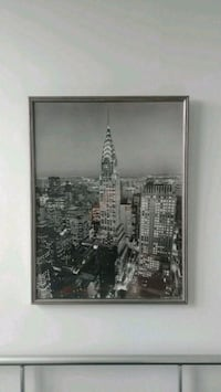 "Chrysler Custom Framed Photo, 25"" × 33"" Washington, 20009"