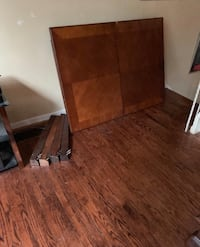 FREE DELIVERY TODAY - BROWN DINING TABLE - GREAT CONDITION