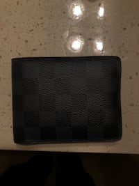 Black pebble leather bifold wallet Boca Raton, 33486
