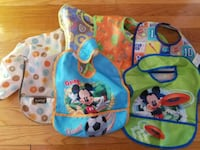 Baby or toddler food bibs