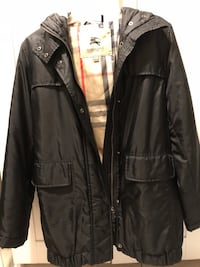 Women's Burberry London Jacket US Size 8 (missing fur from hood) Vancouver, V5S 4Y1