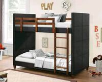 Leather bunk bed (new)