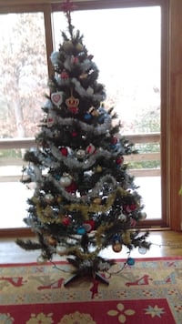 Christmas tree. Decorations are not included