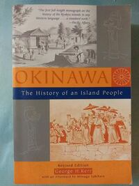 Okinawa The History of an Island People book Glen Burnie