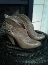 Leather Carlos Boots  (booties) Huntersville, 28078