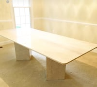 Stunning Custom Made Solid Marble Dining Table  20 km