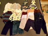 Winter boys clothes 6 months