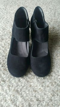Black Suede Shoes size 7.5