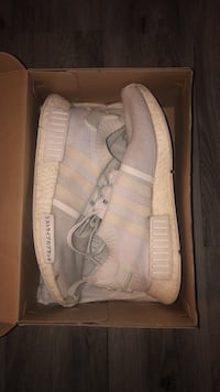 Triple White Japan Pack NMD size 9