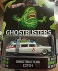 Hot Wheels white Ghostbusters Ecto-1 pack Vancouver, V5X 1L8