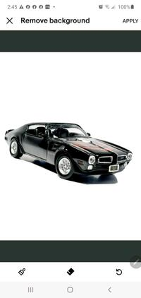 New 1973 Pontiac Firebird Limited Edition Scale 1:24 ONLY SELLER .