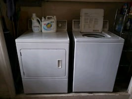 Washer and Electric Dryer for sale.
