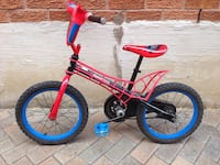 toddler's red and blue bicycle Richmond Hill, L4B 1W9