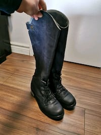 Unity in Diversity knee high leather boots size37 Toronto, M9C