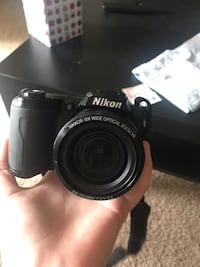 Black nikon coolpix dslr camera Sanford, 32771