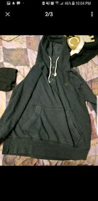 black zip-up hoodie 2662 km