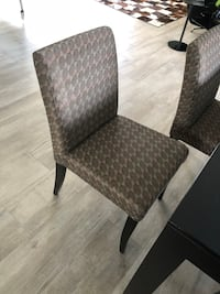 gray and black padded chair Pinecrest, 33156