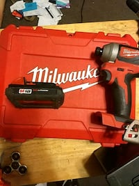 red and black Milwaukee cordless drill Leicester, 28748