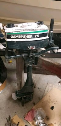 Sears gamefisher 7.5hp outboard