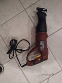 black and red Black & Decker corded power drill Kansas City, 64130
