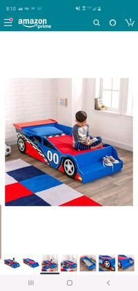 kidkraft toddler car bed Oakton, 22124