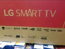 "TV 43"" NEW SMART LG"