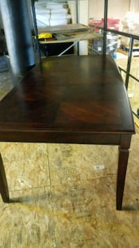 rectangular brown wooden table Burnaby, V5B 3M7