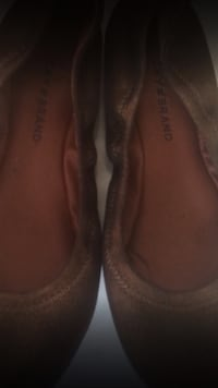 pair of brown leather flats Greer, 29650