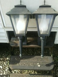 Electric porch lanterns Gadsden