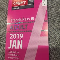 January Youth Bus passes Calgary, T2A 4N5