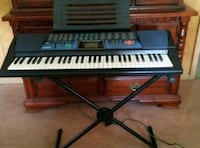 Casio CTK-519 Piano Keyboard WITH Stand! Works Gre