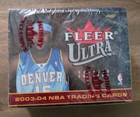 2003-04 Fleer Ultra Basketball Box - LeBron James Rookie Year Vaughan, L4J 9C1