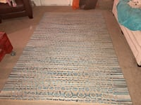 gray and white area rug Bowie, 20716