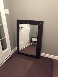 black wooden framed wall mirror Woolwich, N3B