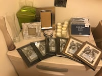 Picture frames, candles and glasses oh my! Longs, 29568
