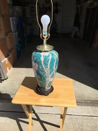 white and blue table lamp Jackson, 08527