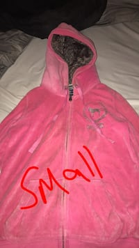 pink and black zip-up hoodie Monroe, 48161