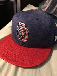 Padres 4th of July hat