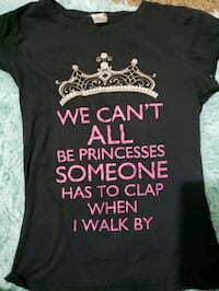 Womens size small quote t shirt