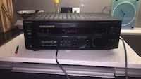 black Pioneer 1-DIN car stereo head unit Toronto, M6J 0E5