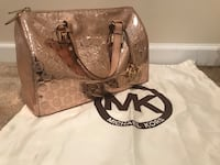 Rose gold patent leather MK Springfield, 22152