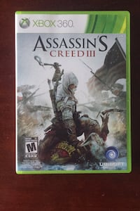 Assassin's Creed 3 Xbox 360 Vaughan, L4K 1H2