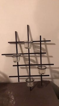 votive wall  candle holder