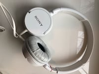 White Sony Headphones Edmonton, T6R 3L3