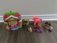 Strawberry shortcake house and other girls toys Toronto, M6E 4R1