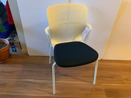 Side chair - Herman Miller Keyn, upholstered seat