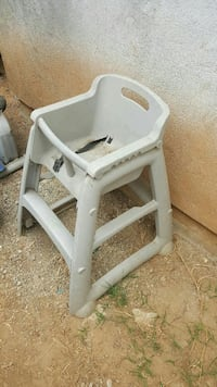 gray plastic high chair frame East Los Angeles, 90022