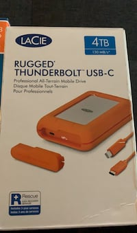 Rugged thunderbolt USB -C